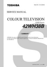 Buy Toshiba 42WH18P svm 2 Manual by download #170625