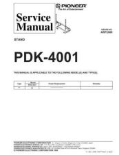 Buy PIONEER A2989 Service Data by download #152350