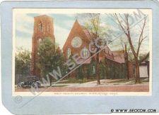 Buy CT Middletown Postcard Holy Trinity Church Street Scene w/Old Car ct_box3~1364