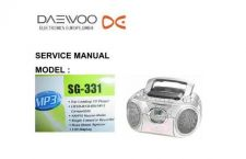 Buy DAEWOO SM SG-331 (E) Service Data by download #150673