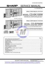 Buy Sharp CDC250X-260X-CPC250 SM GB(1) Manual by download #179878
