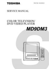 Buy TOSHIBA MD9DM3 SVCMAN ON by download #129512