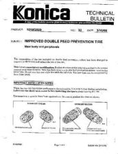 Buy Konica 30 IMPROVED DOUBLE FEED PRE Service Schematics by download #136091
