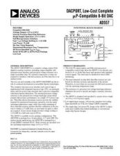 Buy INTEGRATED CIRCUIT DATA AD557J Manual by download Mauritron #186268