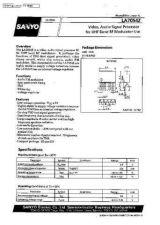 Buy MODEL LA7054Z Service Information by download #124284