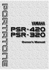 Buy Yamaha PSR420E Operating Guide by download Mauritron #204142