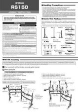 Buy Yamaha RS150 EN Operating Guide by download Mauritron #205199