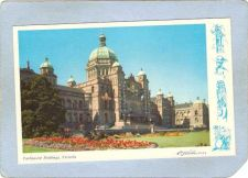 Buy CAN Victoria Postcard Parliament Buildings w/Edge Design can_box1~225