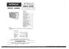 Buy HITACHI No SB004E Service Data by download #151125
