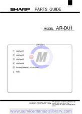 Buy Sharp ARDU2 SM GB Manual by download #179577