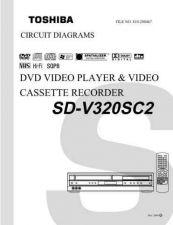 Buy TOSHIBA SDV391U SDV391C SVCMAN Service Schematics by download #160450