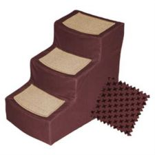 Buy Designer Stair III Pet Stairs with Removable Cover Burgundy
