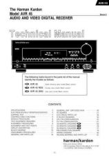 Buy Harman Kardon AVR45 PRELIMINARY SM Manual by download Mauritron #185599