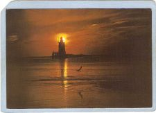 Buy DE Generic Lighthouse Postcard Showing a lighhouse on Delaware-Maryland Co~116
