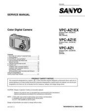 Buy Sanyo Service Manual For VPC-AZ1E by download #176262