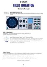 Buy Yamaha FIELDROTATION EN Operating Guide by download Mauritron #204681