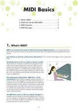 Buy Yamaha MIDI_BASICS_EN_V10A Operating Guide by download Mauritron #203848