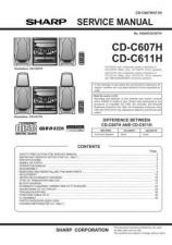 Buy CDC607H-001 Service Data by download #132441