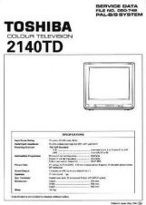 Buy MODEL TOS2140 Service Information by download #124920