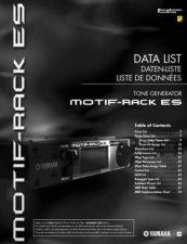 Buy Yamaha MOTIFRACKES_EN2 Operating Guide by download Mauritron #203872