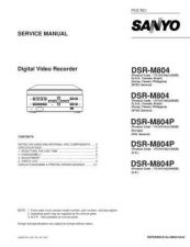Buy Sanyo DSR-M800PA Supplement Manual by download #174123