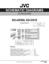 Buy JVC KD-G510 - AR560 SCH Service Schematics by download #156090