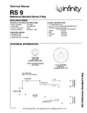 Buy INFINITY RS 9 TS Service Manual by download #151418
