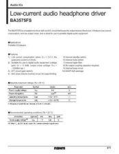 Buy MODEL BA3575FS Service Information by download #123707