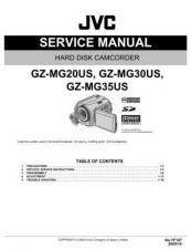 Buy JVC GZ-MG20US Service Schematics by download #155886