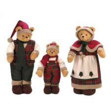 Buy Plush Santa Clause Bear Family