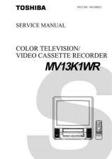 Buy TOSHIBA MV13K1WR Service Schematics by download #160216