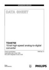 Buy SEMICONDUCTOR DATA TDA8760J Manual by download Mauritron #191059