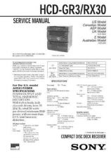Buy SONY HCD-SD1 CDC-1409 by download #159534
