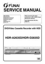 Buy Funai FUNAI HDR-A2635D D2835D(E434FED KED) Manual by download #162393