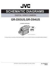 Buy JVC GR-D93US sch Service Schematics by download #155633