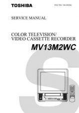 Buy TOSHIBA MV13M2WC SVM Service Schematics by download #160228