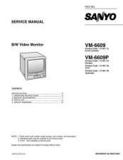 Buy Sanyo VM-6620PA Manual by download #177509