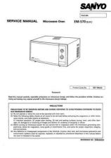 Buy Sanyo Service Manual For EM-S301E prod change Manual by download #175872
