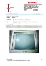 Buy TOSHIBA CTV-07A-9815 SERVICE BULLETIN by download #132150