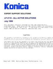 Buy Konica 3110 Service Schematics by download #136103