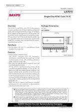 Buy SEMICONDUCTOR DATA LA7615J Manual by download Mauritron #188905