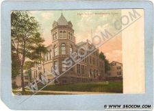 Buy CT Middletown Postcard Hidh School ct_box3~1418