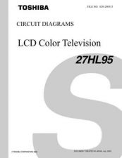 Buy TOSHIBA 27HL95 CD Service Schematics by download #159821