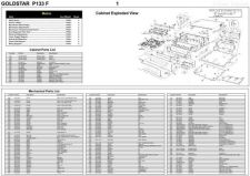 Buy GOLDSTAR P133F Schematics plus by download #147145
