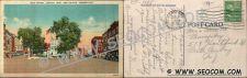 Buy CT New Britain Postcard Main Street Central Park Street Scene Divided Road~1695