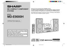 Buy SHARP MDE9000 MANUAL by download #128750