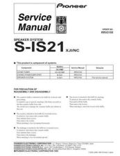 Buy PIONEER R2155 Service Data by download #149457