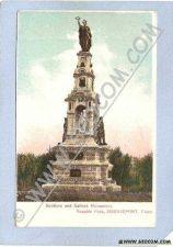 Buy CT Bridgeport Soldiers & Sailors Monument Seaside Park w/Gold Sparkles Out~190