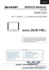 Buy Sharp 28JS74E SM GB(1) Manual.pdf_page_1 by download #178095