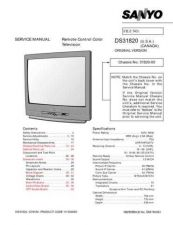Buy Sanyo DS31810(OM) Manual by download #174076